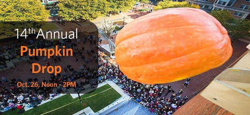 <a href='http://physics.bu.edu/community/pumpkindrop'>Join us on October 26th for our 14th annual Pumpkin Drop!</a>